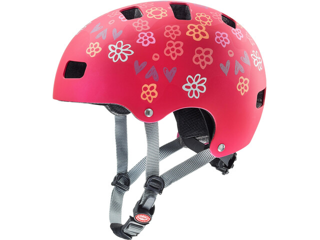 UVEX Kid 3 CC Helmet Kinder dark red